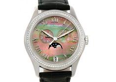Patek Philippe 18K White Gold Diamond Ladies Watch 4936G-001
