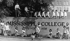 My dad is standing by the snare drum on the wall.  :)  Love Mississippi College. Clinton, MS