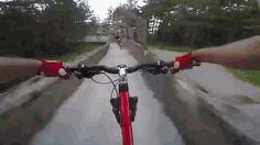 Mountain biking down an abandoned bob sleigh track http://ift.tt/2d9xQxo