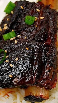 Instant pot recipes 450571137720331442 - Instant Pot Korean Style Short Ribs Source by Rib Recipes, Slow Cooker Recipes, Cooking Recipes, Korean Recipes, Asian Pressure Cooker Recipes, Healthy Recipes, Soup Recipes, Cheap Recipes, Sauces
