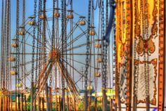 six flags new orleans rusting away