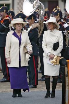 Queen Beatrix and Princess Irene