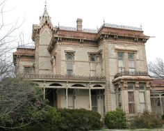 El Castile, built in 1883 as the headquarters of the Waggoner Ranching Empire in…
