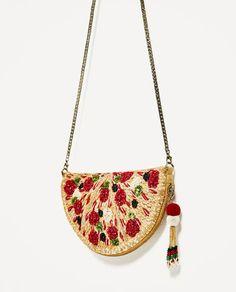 PIZZA CROSSBODY BAG-NEW IN-WOMAN | ZARA France