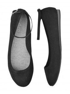 Tellement plus que des simples ballerines! Dotée d'une courroie de cheville amovible, ces magnifique chaussures t'offrent deux styles en un!
