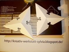 Sylvia's-Kreativ-Werkstatt Sylvia Michael unabhängige Stampin'Up! Demonstratorin Kreativ Werkstatt: Neue Idee mit dem Envelope Punch Board - Weihnachtsstern Teil 2