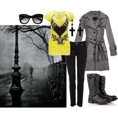 be mysterious.. ;), created by tigerwoman37086 on Polyvore