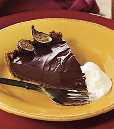 Rich Chocolate Tart #chocolates #sweet #yummy #delicious #food #chocolaterecipes #choco