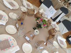Table by Casona del Judío. Andrea and Alavaro Wedding 21.06.2014
