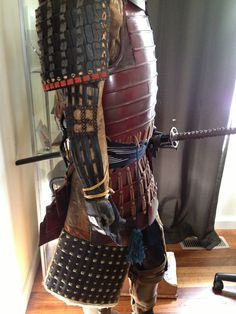 My Samurai Armor Samurai Helmet, Samurai Warrior, Chinese Armor, The Last Samurai, Samurai Artwork, Japanese Warrior, Medieval Weapons, Suit Of Armor, Madara Uchiha