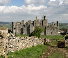 Middleham Castle, one time home of Richard III