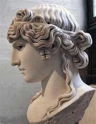 Roman woman hair style