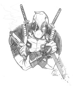 #Deadpool #Fan #Art. (Deadpool) By: NikoAlecsovich. (THE * 5 * STÅR * ÅWARD * OF: * AW YEAH, IT'S MAJOR ÅWESOMENESS!!!™)[THANK Ü 4 PINNING!!!<·><]<©>ÅÅÅ+(OB4E)     https://s-media-cache-ak0.pinimg.com/474x/2f/46/7e/2f467eb26b6f67f6bc7c8e5ef6e8ed59.jpg