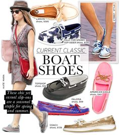 Shop These Stylish Riffs On The Classic Boat Shoe #preppy #prepstyle #sloanestyle