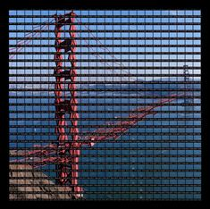 Deconstructed Landmark Photo Montages by Thomas Kellner