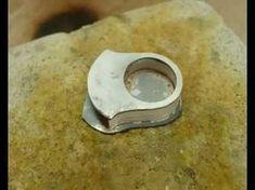 Confección de anillo plata - YouTube