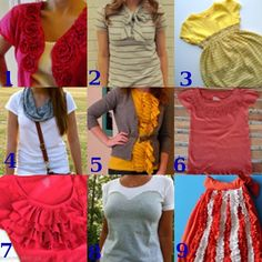 Link Love: T-Shirt Transformations | FaveCraftsBlog