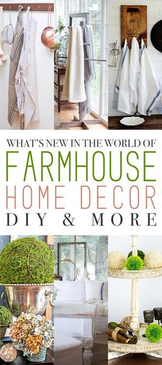 What's New in the World of Farmhouse Home Decor DIY and More - The Cottage Market