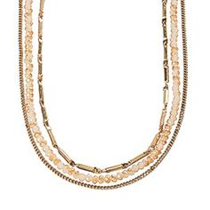 Radiance Necklace - Gold Tone