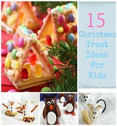 Christmas Treat Ideas for Kids - Design Dazzle #Christmaskidtreats, #Christmastreats