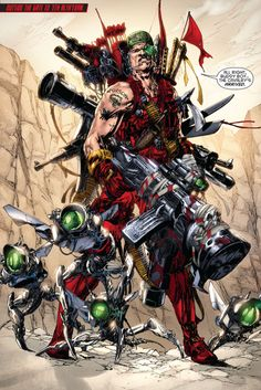 #Red #Hood #And #The #Outlaws #Fan #Art. (Red hood and the outlaws #22 cover) By: Rob Liefeld. (THE * 5 * STÅR * ÅWARD * OF: * AW YEAH, IT'S MAJOR ÅWESOMENESS!!!™) ÅÅÅ+