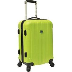 Travelers Choice Cambridge 20 in. Carry-on Lightweight Hardside Upright Spinner Luggage Green - Cheap Luggage, Buy Luggage, Best Carry On Luggage, Carry On Suitcase, Luggage Sets, Travel Luggage, Travel Bags, Suitcase Price, Suitcase Online