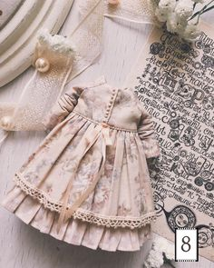 Baby Girl Dress Patterns, Baby Clothes Patterns, Baby Dress, Handmade Baby Clothes, Cute Baby Clothes, Doll Clothes, Little Kid Fashion, Toddler Fashion, Kids Fashion