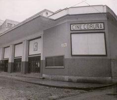 Cine Coruña Mansions, House Styles, Home Decor, Old Pictures, Live, Movies, Fotografia, Souvenirs, Historia