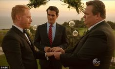 Fifth season of popular sitcom culminated in wedding of gay couple Mitch and Cam