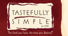 Tastefully Simple (est. 1995) - The food you love, the time you deserve. (tm)