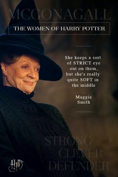 Image discovered by Find images and videos about harry potter, maggie smith and professor mcgonagall on We Heart It - the app to get lost in what you love. Harry James Potter, Harry Potter Girl, Harry Potter Pictures, Harry Potter Facts, Harry Potter Quotes, Harry Potter Fandom, Harry Potter Characters, Severus Rogue, Maggie Smith
