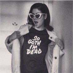 """SO GOTH I'M DEAD"" : Marina x @Daniel Patrick Simmons #elevendiamonds"