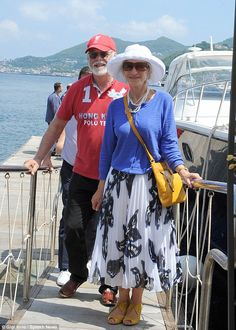 Looking good: Helen Mirren looked typically youthful when she stepped out on a foreign bre...