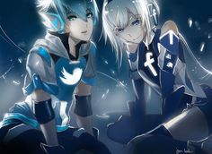 GoBoiano - Social Media Websites and Internet Browsers Reimagined As Anime Characters