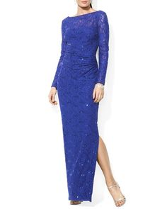 Lauren Ralph Lauren Gown - Sequin Lace