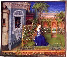Enluminure de Barthélémy d'Eyck pour La Théséide de Boccace