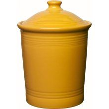 Fiesta Marigold Large Canister 3 Qt 9.75 x 7.25 in