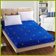 Fitted Sheet Mattress Cover Printing Bedding Linens Bed Sheets With Elastic Band Double Queen Size Price history. Category: Home & Garden. Subcategory: Home Textile. Double Duvet Set, Double Bed Sheets, Linen Bed Sheets, Linen Bedding, Kings Home, Mattress Covers, Mattress Mattress, Duvet Covers, Bedroom Carpet