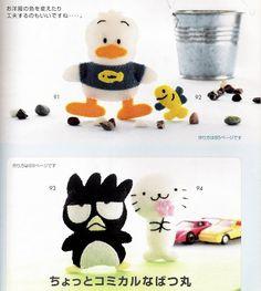 Feitos de feltro com moldes!   Artesanato & Humor de Mulher