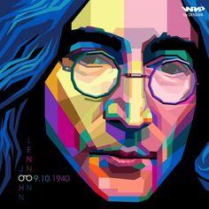 Music Art -Musicians - John Lennon