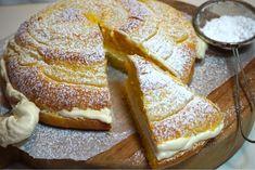 Saffrans krämkaka Baking Recipes, Cake Recipes, Dessert Recipes, Bagan, Tasty, Yummy Food, Swedish Recipes, Cookie Desserts, Yummy Cookies