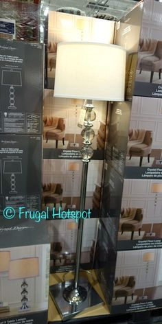 Bridgeport Designs Crystal Floor Lamp. #Costco #FrugalHotspot #lamp