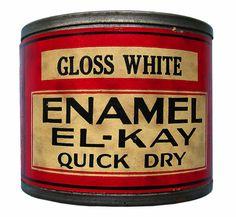 Vintage paint cans