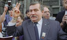 On This Day: Lech Walesa Becomes Poland's First Popularly Elected Leader Web Research, Research Skills, Nancy Reagan, John Adams, Nobel Peace Prize, Thomas Jefferson, Nelson Mandela, Steve Jobs, Ford Models
