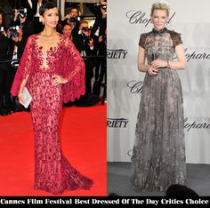 Cannes Film Festival Best Dressed Of Day 2 Critics' Choice - Red Carpet Fashion Awards
