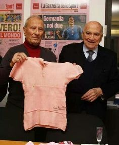 Renzo Zanazzi (left) passed away yesterday 28-Jan-14 at the age of 89.  Renzo was a professional cyclist from 1945-1952.  Known as a sprinter, he won three stages of the Giro d'Italia (one in 1946 & two in 1947).  During the 1947 Giro, he wore the maglia rosa for three days.  Only two other riders would wear the leader's jersey in the 1947 Giro (Renzo's team mate Gino Bartali & Fausto Coppi).  Since retiring, for many years he owned a bar in Milano.  The walls of his bar were covered with…