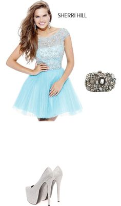 """""""Prom"""" by haylz-12 ❤ liked on Polyvore"""