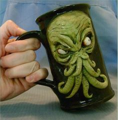 Cthulhu Mug - For the worst of mornings.
