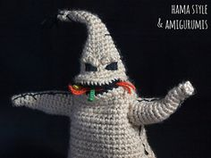 Nightmare Before Christmas Oogie Boogie - Free Pattern Download
