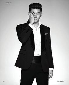 Taecyeon in Audi Magazine n°2 2016. cr as shown 2PM FAN BLOG